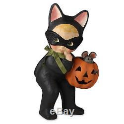 13 Bethany Lowe Cat Girl Pumpkin Halloween Retro Vintage Style Decor Figure Lrg