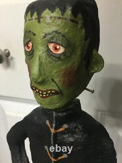 15 Halloween Frankenstein Monnie Wilson Papier Mache