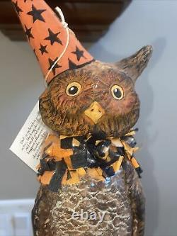 17 Owl On Moon Deborah Schoch Bethany Lowe Retired Tagged