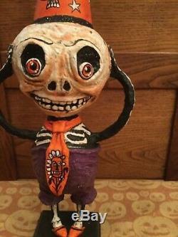 18 Halloween Silly Skelly 2013 Skeleton Debra Schoch Original