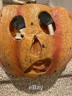 1 of RAREST Bethany Lowe Halloween Resin Creeping SkeletonSuper Rareretired