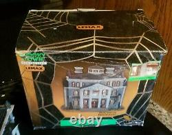 2000 Lemax Spooky Town Shady Hollow Funeral Parlor No. 05478 A Used