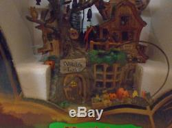 2004 Lemax Spooky Town Witch's Lair 45003