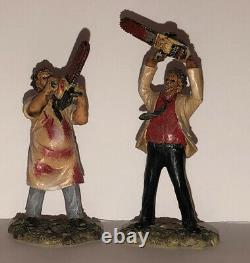 2005 Hawthorne Horror Classic Hewitt House Texas Chainsaw Massacre 2 Figures