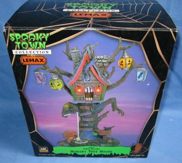 2006 Lemax Spooky Town Hungry Tree House