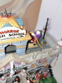 2011 Lemax Spooky Town Horror High School Halloween Retired! Rare