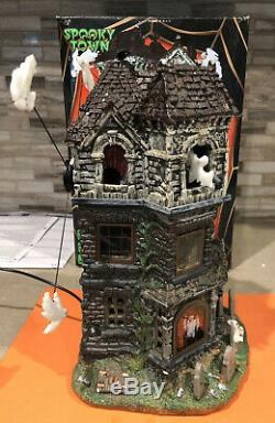2016 Rare Ghostly Manor Lemax Spookytown Collection Sights & Sounds VHTF