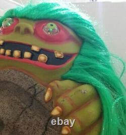 22 Tombstone Monster Alien Halloween Vintage Blowmold Paper Magic Group Hair