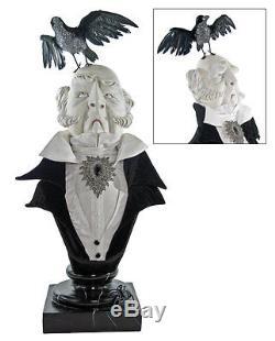28-628045 Katherines Collection Duke Raven Large Bust Halloween Vampire Portrait