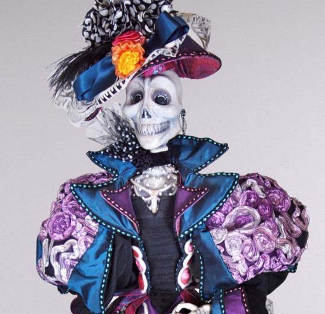 34 Katherine's Collection Retired 2013 Halloween Consuelo De Muerte Skeleton