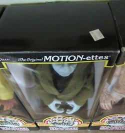 5 1992 TELCO CREATIONS MOTION-ettes Animated Sounds withBoxes Mummy Dracula & More