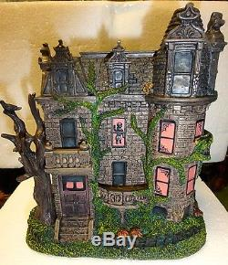 AMERICA'S MOST HAUNTED Village/Halloween House Series FRANKLIN CASTLE Lighted