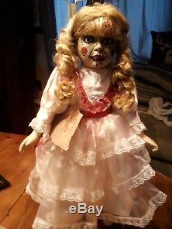 Annabelle The Conjuring 16 Porcelain Doll Zombie Prop