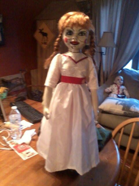 Annabelle The Conjuring 24 Doll Zombie Prop Ooak Halloween Prop