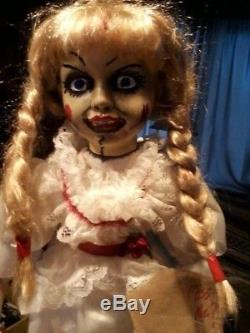 Annabelle The Conjuring 24 Porcelain Doll Zombie Prop