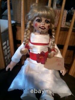 Annabelle The Conjuring Porcelain Doll 19 Zombie Prop Ooak