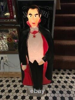 Bela Lugosi Dracula Halloween Blow Mold Excellent Halloween Blow Mold