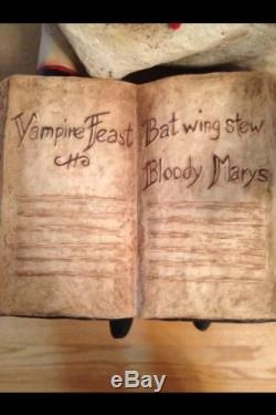 Bethany Lowe Becky Peterson Vampire Feast- Discontinued