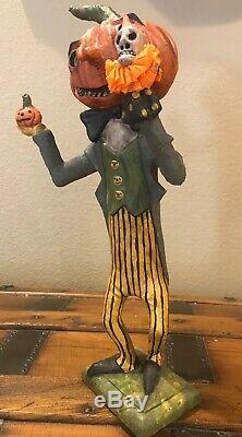 Bethany Lowe Debra Schoch Hop Hop Jingle Boo Dapper Jack withSkelly Puppet-Retired