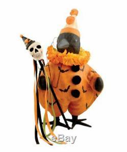 Bethany Lowe Designs Halloween Fancy Crow TJ5323