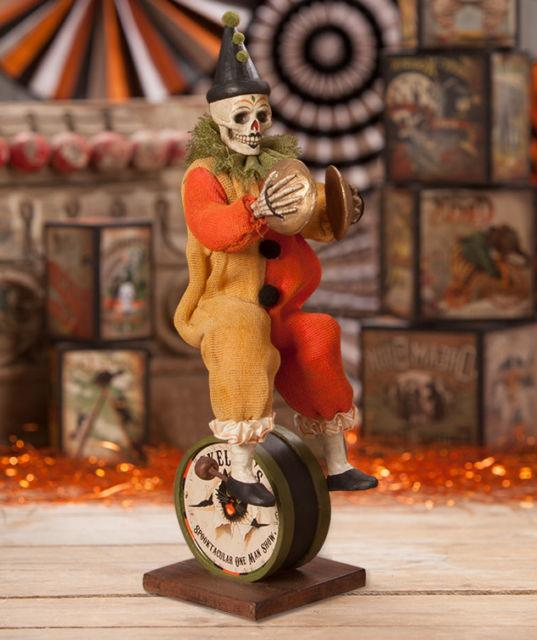 Bethany Lowe Designs Halloween Skeleton One Man Band Td7623