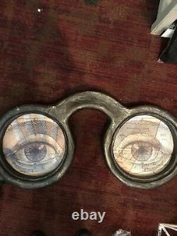 Bethany Lowe Halloween Apothecary Eyeglasses Sign Retired 35 X 17