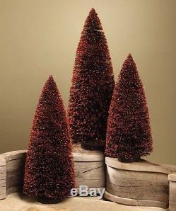 Bethany Lowe Halloween -Black Bottle Brush Trees XL-LG2628