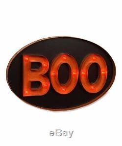 Bethany Lowe Halloween -Boo Marquee Sign-LC3638