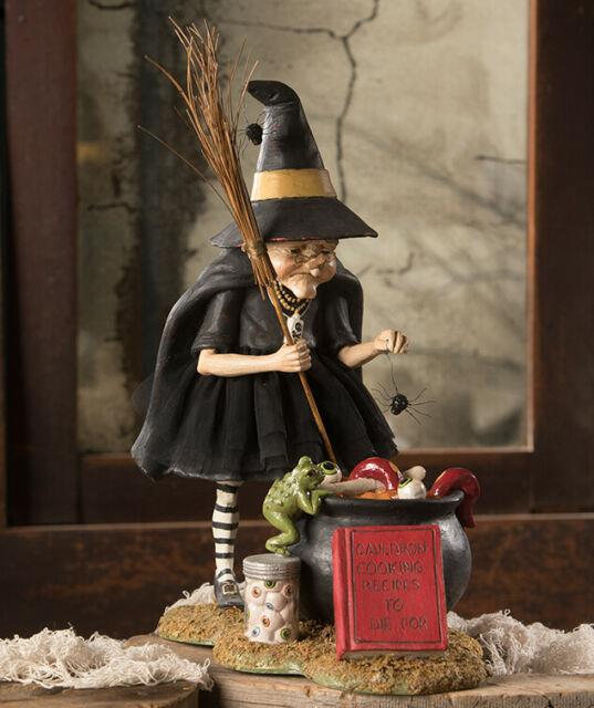 Bethany Lowe Halloween Cauldron Cooking Witch Td9065 New 2020