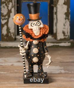 Bethany Lowe Halloween Clowning Around Skelly DE8300 David Everett
