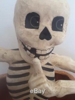 Bethany Lowe Halloween Creeping Skeleton-Retired