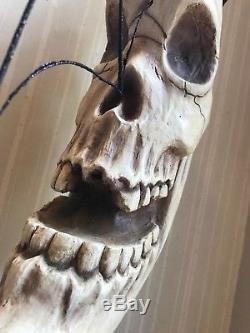 Bethany Lowe Halloween Creepy Haunted Skeleton MoonRareRetired