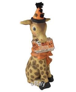 Bethany Lowe Halloween Gerry the Giraffe Large Figure 19 TJ7752