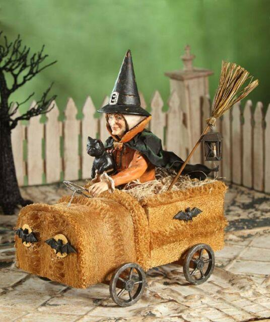 Bethany Lowe Halloween Large 16 1/2 Witch In Sponge Car Td4032 New