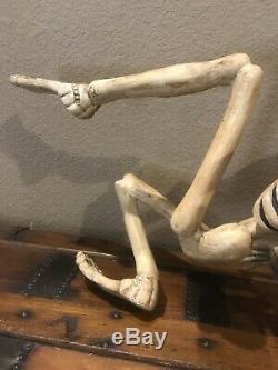 Bethany Lowe Halloween Resin Creeping SkeletonSuper Rareretired