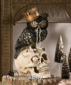 Bethany Lowe Halloween SIr Winston Owl TD9048 New 2020