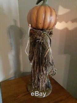 Bethany Lowe Halloween Scarecrow-retired