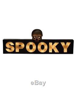 Bethany Lowe Halloween -Spooky Marquee -LC5465