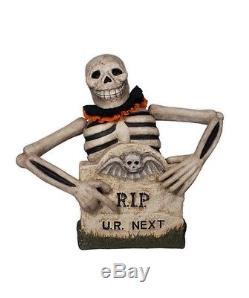 Bethany Lowe Halloween Tombstone Skelly TJ4221