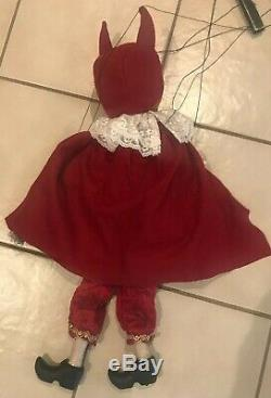 Bethany Lowe Halloween Twisted Jack in a Devil Costume MarionetteRetired