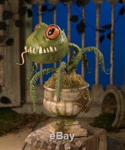 Bethany Lowe Halloween froggy fern lg