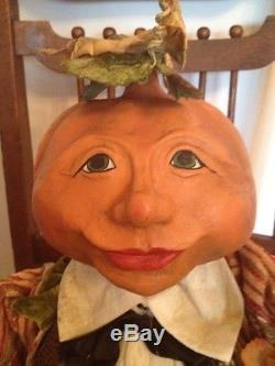 Bethany Lowe Party Pumpkin Head-retired