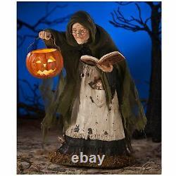 Bethany Lowe Storybook Witch LED Lighted Halloween Retro Vntg Figurine Decor