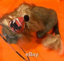 Bethany Lowe Vergie Lightfoot Halloween Circus LionRetired