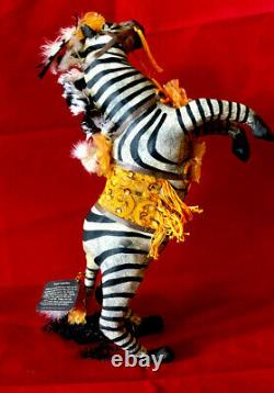 Bethany Lowe Vergie Lightfoot Halloween Dancing Circus Zebra Carnival CarnEvil