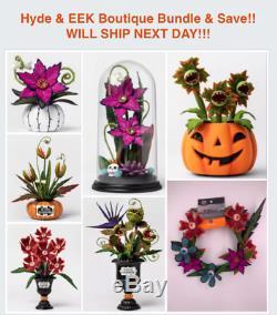 Blood Succulent Halloween Boutique Target Ghoulish Garden Hyde & EEK Plant Set