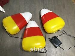 Blow Mold Candy Corn