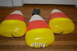 Blow Mold Candy Corn Mr Christmas Light Up Decoration Halloween New LED