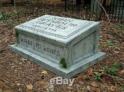 Cemetery Tombstone Video Projector Cover Halloween Prop for AtmosFX ProFX HomeFX