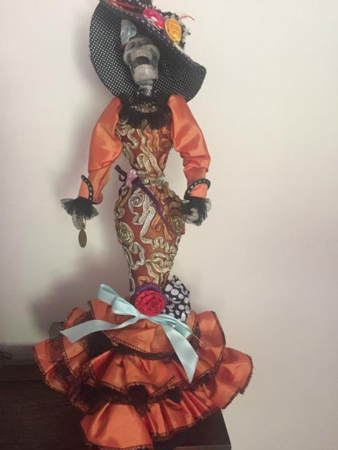 Day Of The Dead Catrina Skeleton 22 Doll Katherine's Collection Halloween